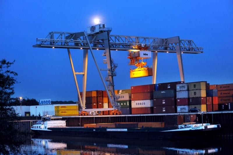 Slim containertransport nieuws smart logistics centre venlo - Corridor ontwikkeling ...